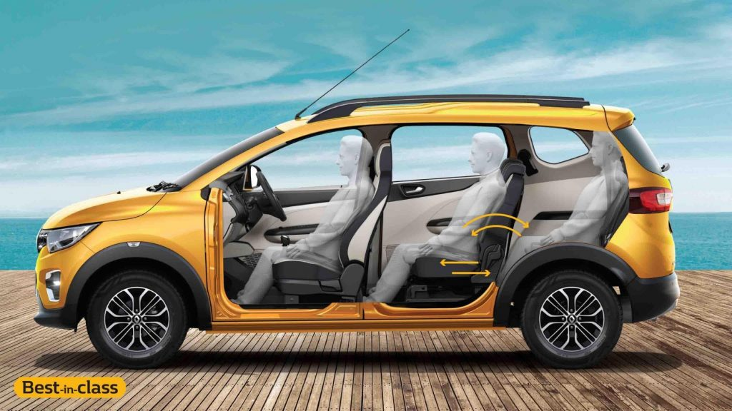 Renault Triber Safety Features Specifications