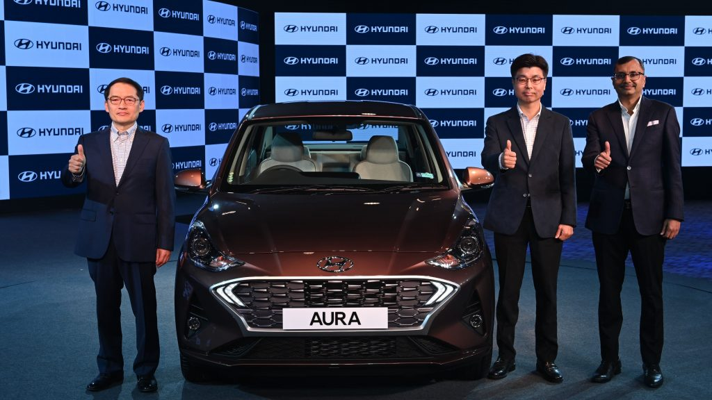 Hyundai Aura Launch Price