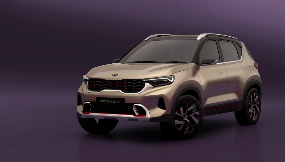 Kia Sonet India Launch September 2020