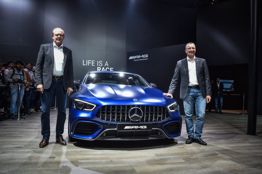 Mercedes-Benz AMG GT 63S 4Matic Coupe Launch