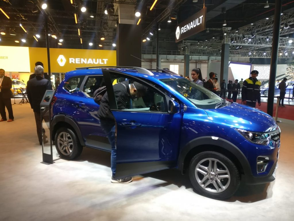 Auto Expo 2020 Live Renault Triber Amt Unwrapped Car Jasoos