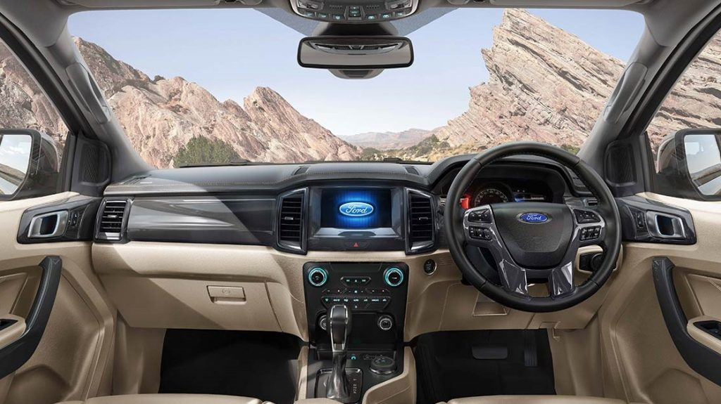 2020 Ford Endeavour BS VI Features