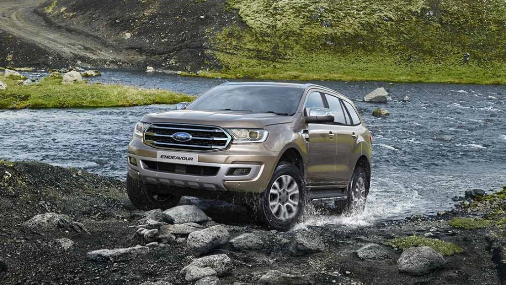 Ford Endeavour BS VI Launch India