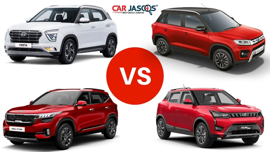 Creta vs Seltos vs Brezza vs XUV300