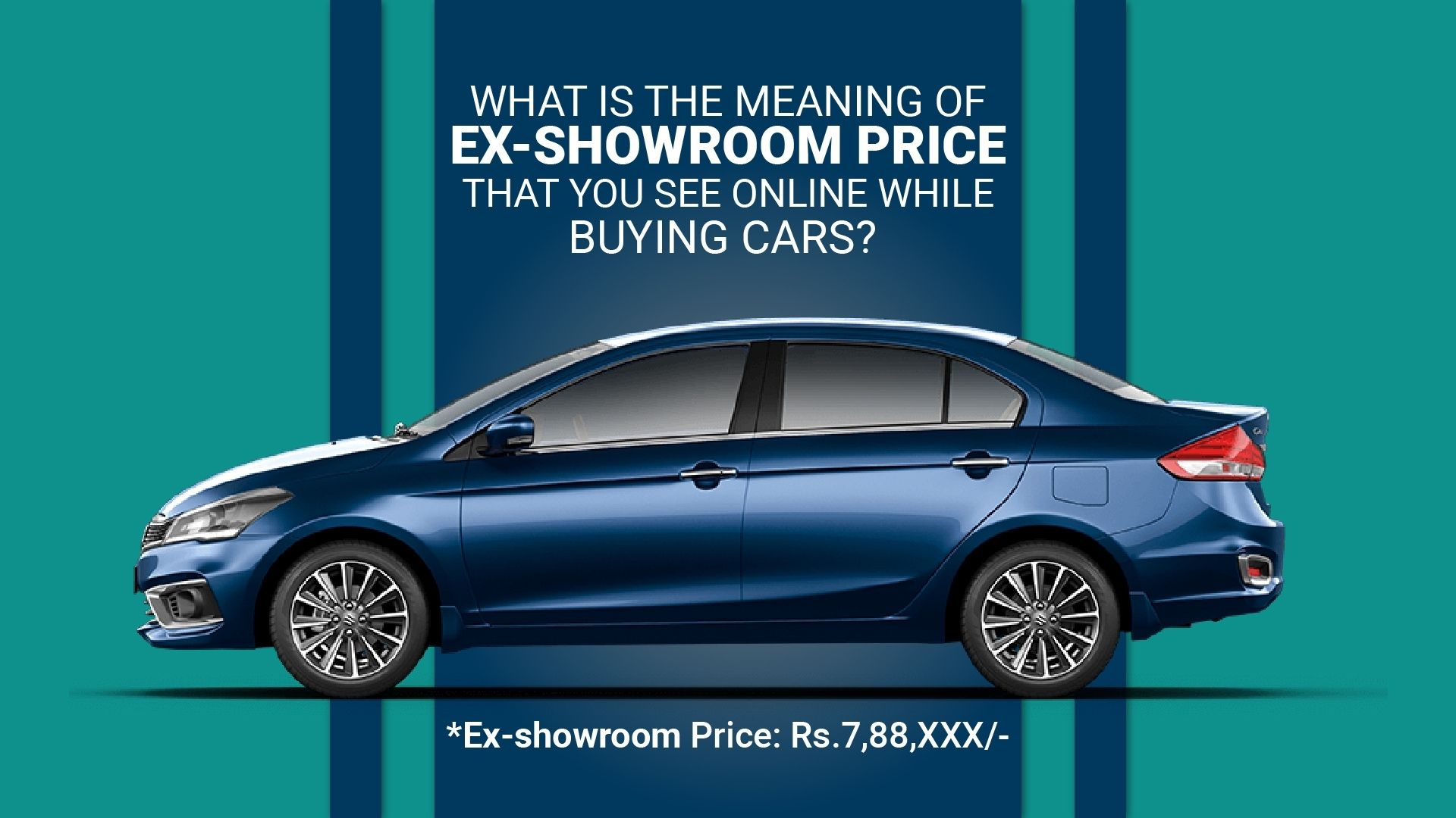 ex-showroom on-road car price explained