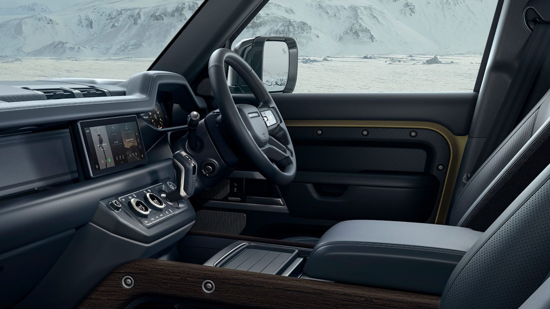Land Rover Defender Interior Features