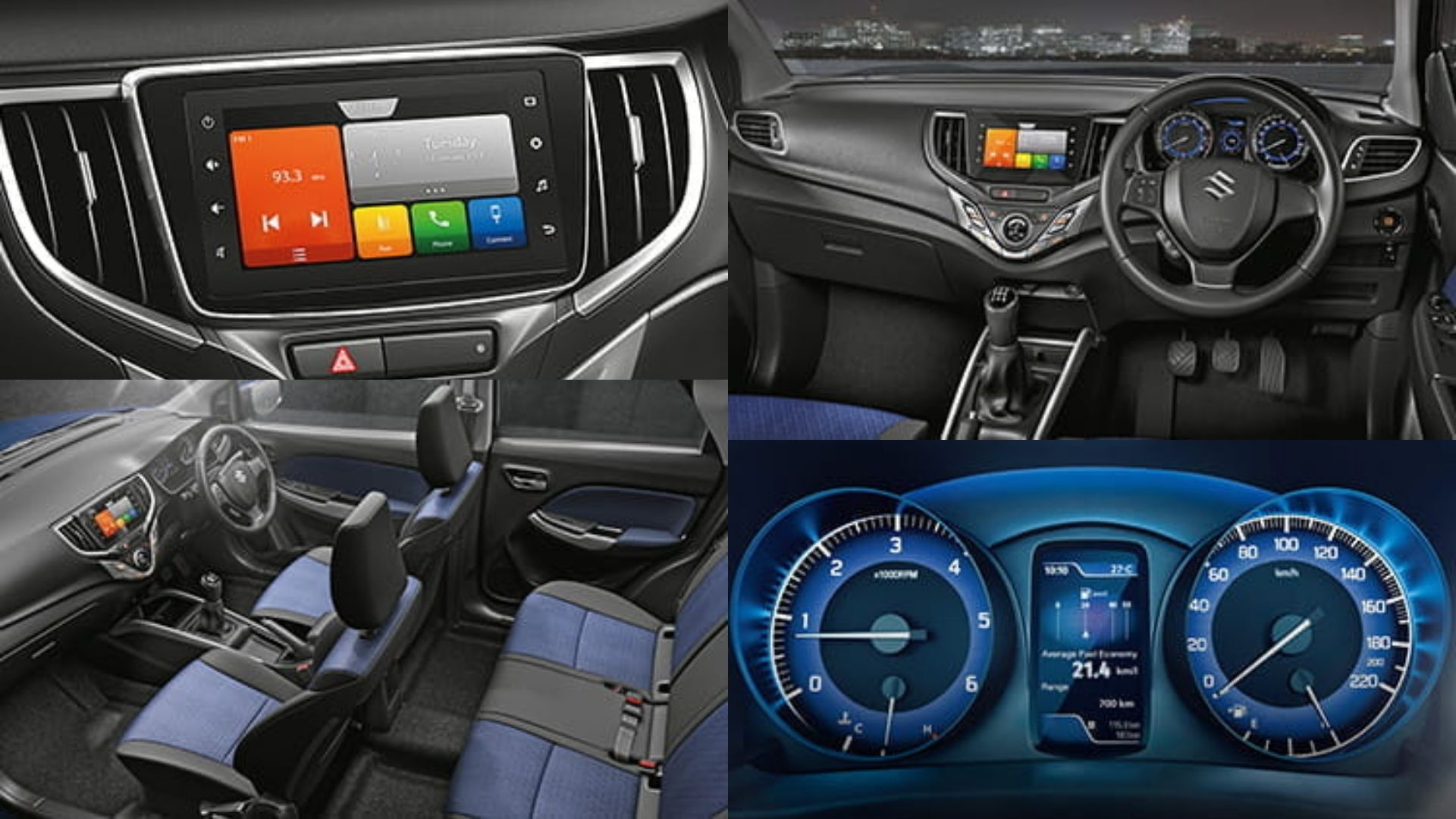 Maruti Baleno Interior Features