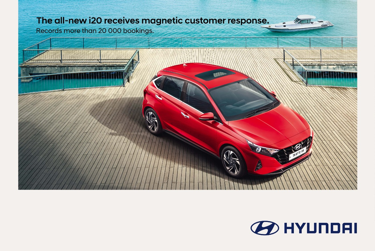 New Hyundai i20 Records 20,000 Bookings in Just 20 Days of its Launch