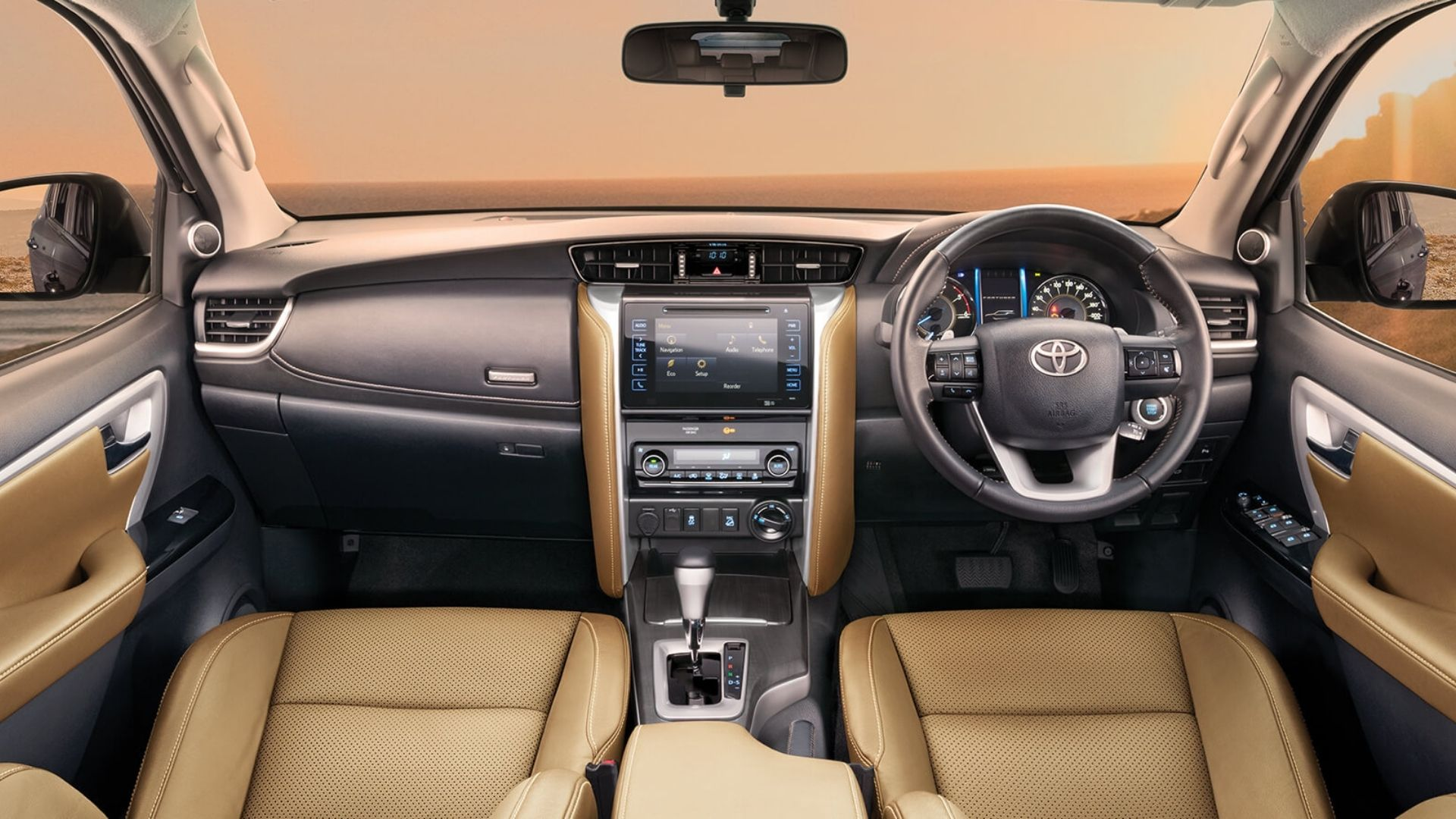 Toyota Fortuner Interior Features