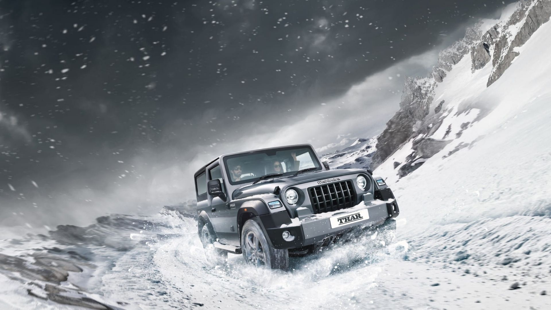 Mahindra Thar Safety Features
