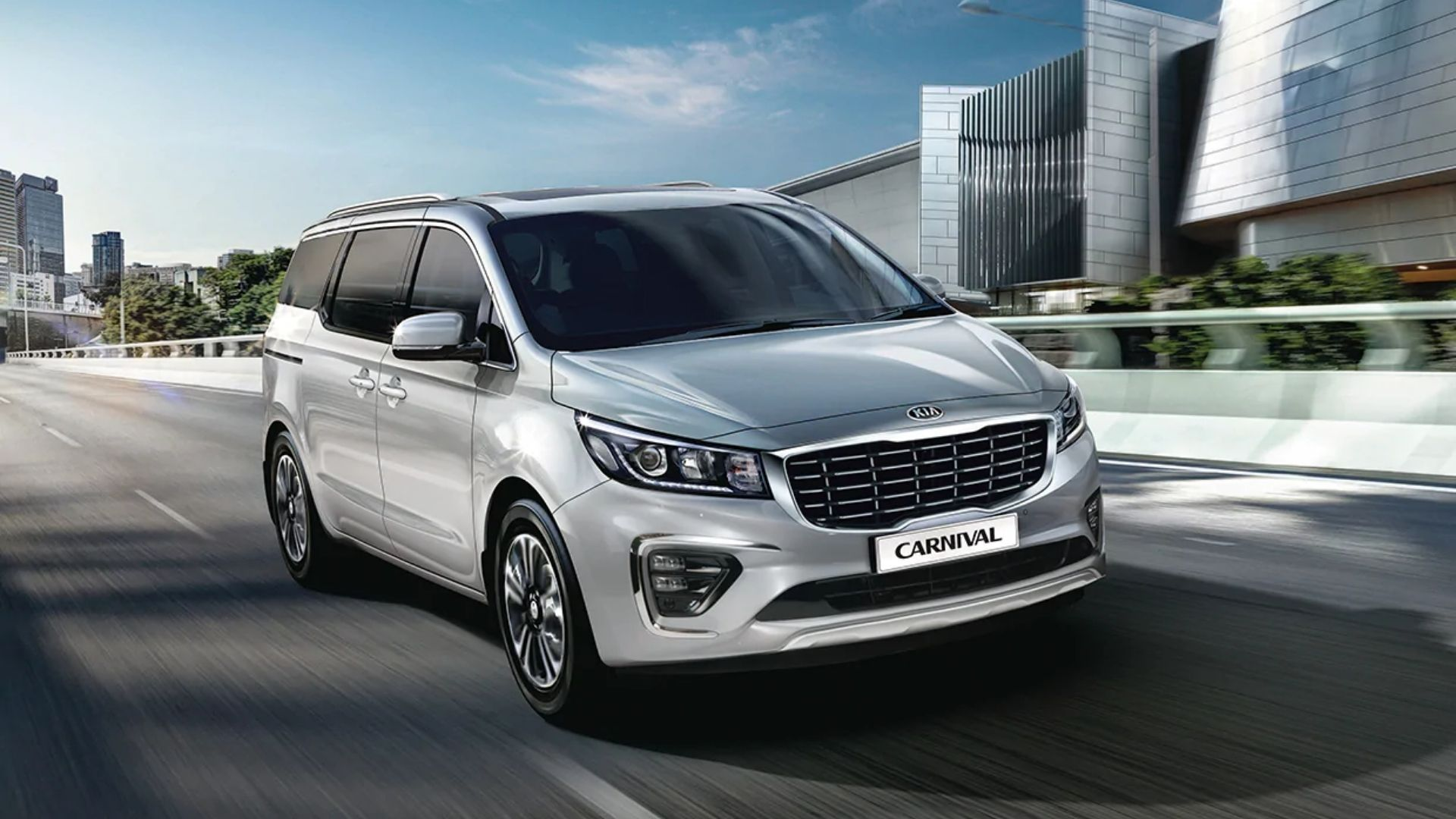Kia Carnival Exterior Features