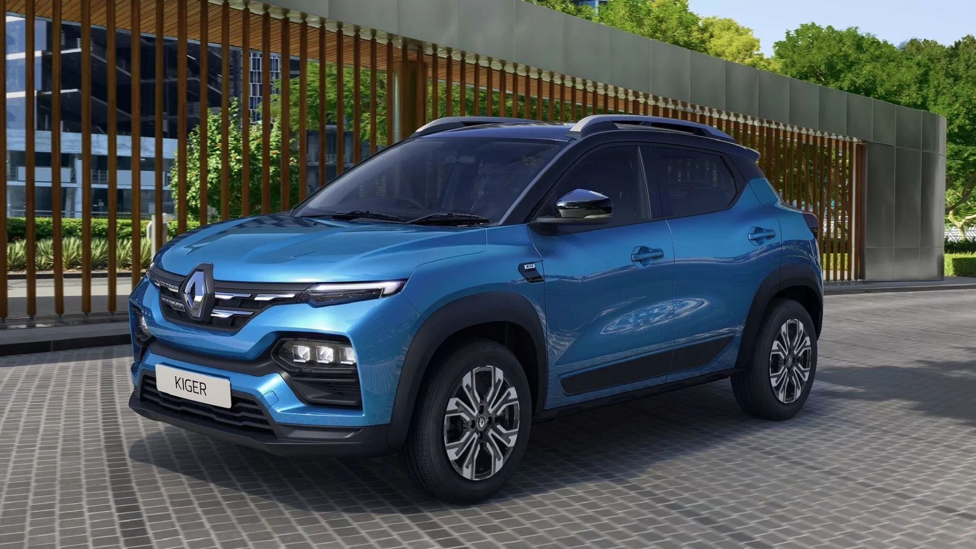 Renault Kiger SUV Unveiled in India