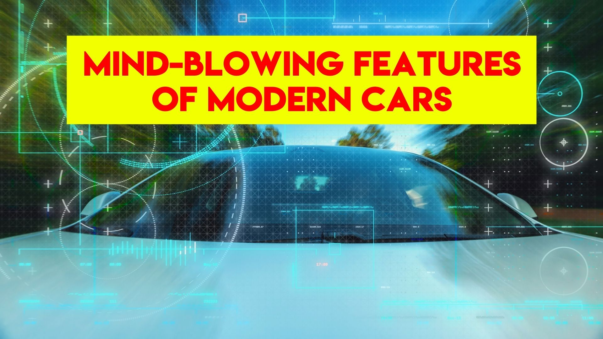 Mind-Blowing Features of Modern Cars